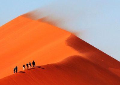 Hoge duin woestijn Marokko M'Hamid