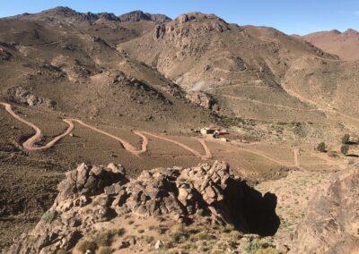 Verbindingsweg doorheen de Saghro