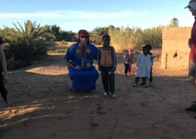 Contact met Berbers Sahara