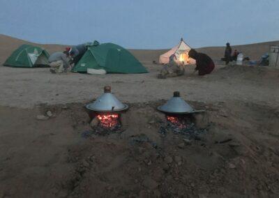 koken in de Sahara