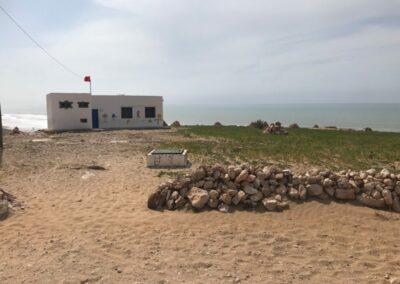 Lagere school op strand, zalig toch