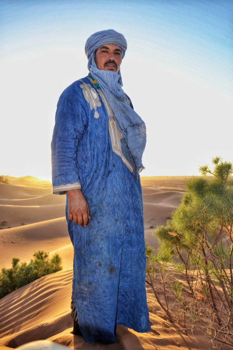 Nomade in Marokko
