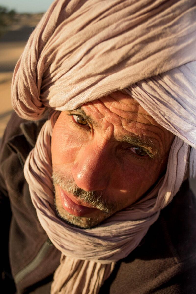 nomade Sahara Marokko
